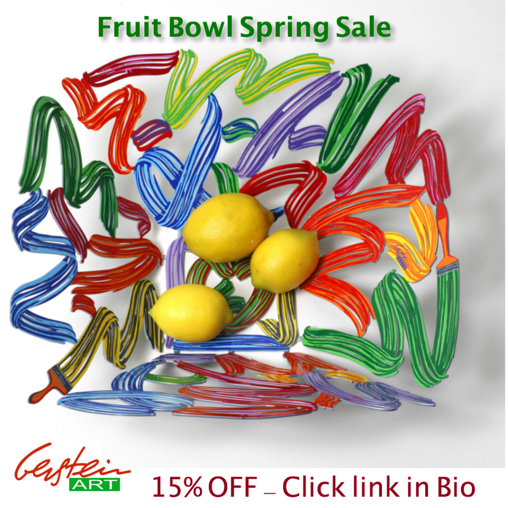 David Gerstein Fruit Bowl Spring Sale on GersteinART