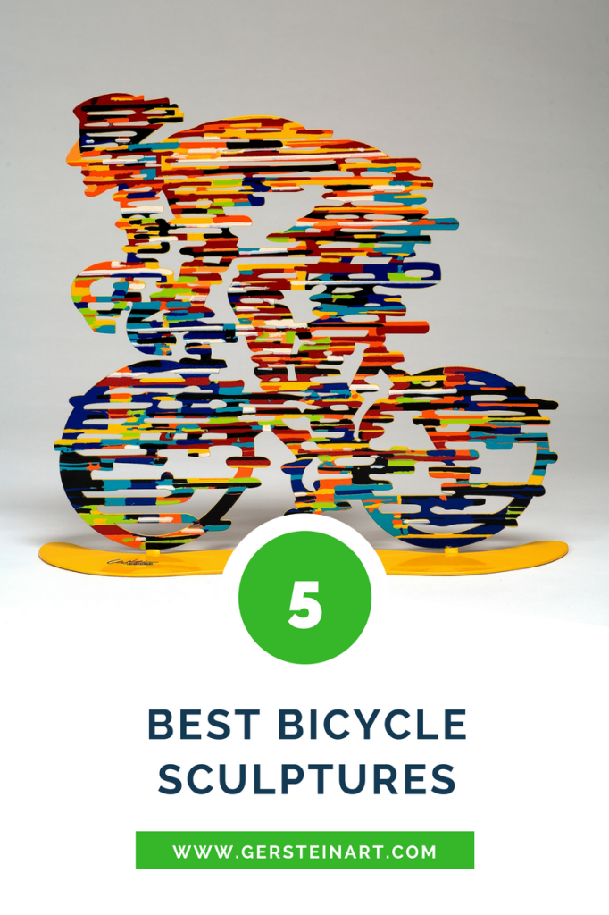 David Gerstein top five cycling sculptures