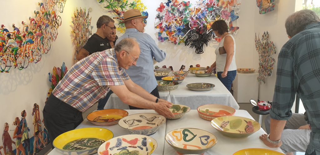David Gerstein Original Bowls exhibition at Gerstein Gallery
